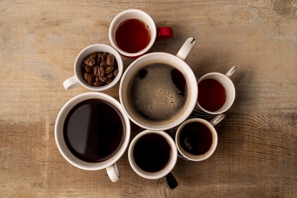 Mapa sensorial del café